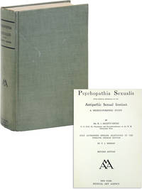 image of Psychopathia Sexualis with Especial Reference to the Antipathic Sexual Instinct: A Medico-Forensic Study