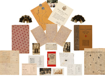 [DETAILED MANUSCRIPT DIARY AND...