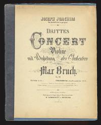 [Op. 58]. Drittes Concert für die Violine [Piano reduction] Clavierauszug (incl. Principalstimme) vom Componisten