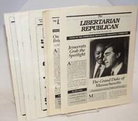 Libertarian Republican [eight issues]
