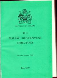 THE MALAWI GOVERNMENT DIRECTORY. As at 1st January 1990