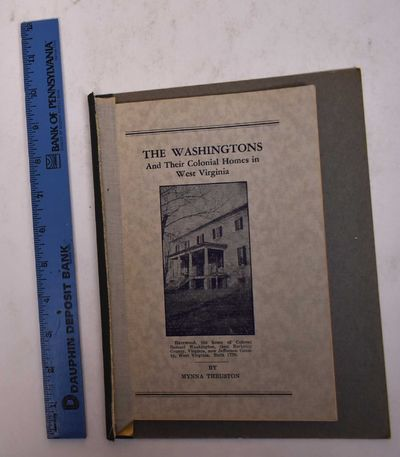 Charles Town, WV: Jefferson Publishing Co, n.d.. Softcover. VG-. Booklet taped onto a board (which a...
