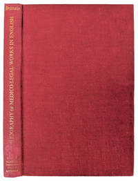Bibliography of Medico-Legal Works in English.