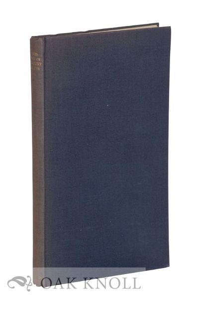 London: Oxford University Press, 1948. cloth. Milford, Humphrey. 8vo. cloth. viii, 160 pages. First ...