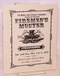 image of 18th Annual Firemen's Muster: programme for the events of Sat. and Sun. May 5_6, 1979, Columbia State Historic Park