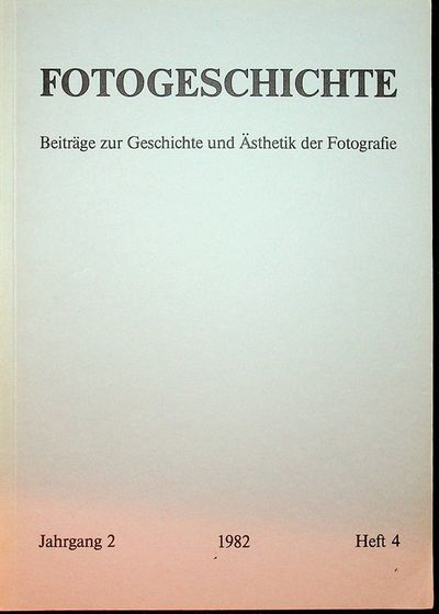 Frankfurt: Timm Starl, 1982. First Edition. Wraps. Near Fine. First Edition. 103, pages. Printed gre...
