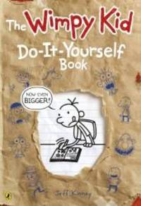 Diary of a Wimpy Kid: Do-It-Yourself Book *NEW large format* by JEFF KINNEY - Paperback - 2014-01-01 - from Books Express (SKU: 0141355107n)
