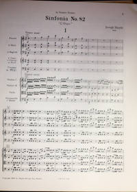 Gesamtausgabe: Complete Works; Serie 1, Band 9: Series 1, Volume 9; Symphonien: Symphonies No. 82-87