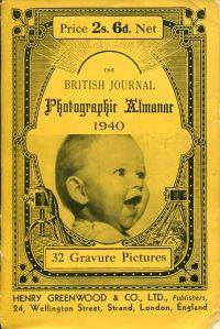 THE BRITISH JOURNAL Photographic Almanac 1940.