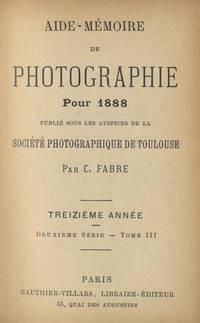 AIDE-MÉMOIRE DE PHOTOGRAPHIE