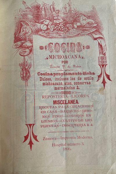 COCINA MICHOACANA. COCINA PROPIAMENTE...
