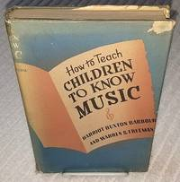 HOW TO TEACH CHILDREN TO KNOW MUSIC