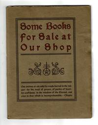 Some books for sale at our shop [cover title]