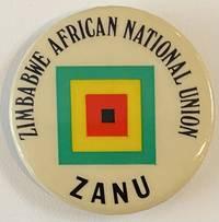 image of Zimbabwe African National Union / ZANU [pinback button]