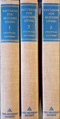 image of Patterns For Modern Living Cultural Patterns 3 Volume Set