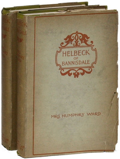 New York: Macmillan Company, 1899. Hardcover. Reprint. 2 volumes, small octavo (18.5cm.); original c...
