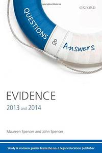 Q & A Revision Guide Evidence 2013 and 2014 (Questions & Answers)