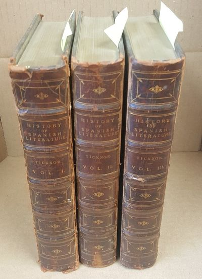 London: John Murray, 1849. Hardcover. Octavo; G/no-DJ; Brown spines with gilt text; 3 volumes; Root ...