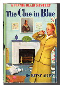 THE CLUE IN BLUE: Connie Blair Mystery, #1.