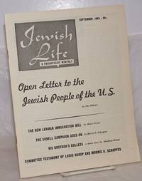 image of Jewish life, a progressive monthly, November, 1951, vol. 7, no. 11 (83) to October, 1953, vol. 6, no. 12 (72)