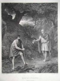 Timon And Apemantus.