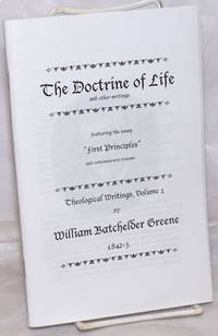 image of The Doctrine of Life and other writings, featuring the essay