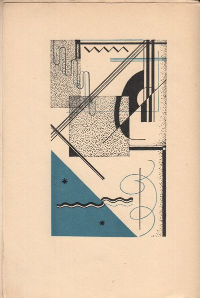 Prague: Plejada, 1927. Octavo (20.3 × 13.5 cm). Original pictorial wrappers by Vít Obrtel; 44...