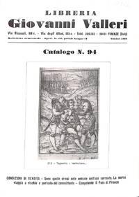 Catalogue 94/n.d. : Libri di pregio.