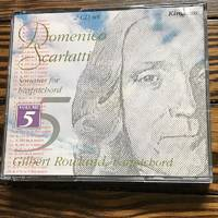 Gilbert Rowland / Scarlatti: Sonatas For Harpsichord, Vol. 5 (Kingdom)