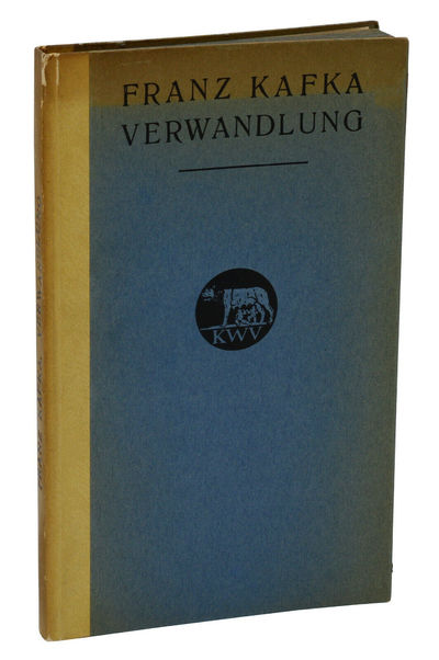 Leipzig: Kurt Wolff Verlag, 1915. First Edition. Very Good+. First edition, first printing with no s...