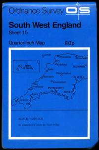 Ordnance Survey Quarter-Inch Map of Great Britain (Blue Covers)(Blue Covers) Sheet 15: South West England
