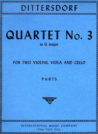 [String] Quartet No. 3 in G Major [SET of FOUR PARTS]