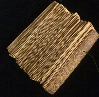 Tibet: handmade 0. No Binding. Very Good. Prayer book in Sanskrit acquired by an American traveler i...
