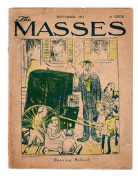 """The Masses / September, 1915. With """"To Billy Sunday"""" by Carl Sandburg. Seven Helen Hoyt poems. Cornelia Barns cover."""