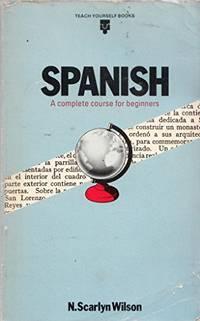teach yourself spanish by scarlyn wilson n - - Biblio com