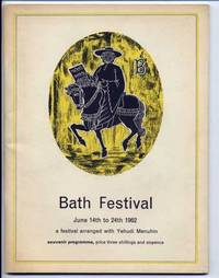 Bath Festival Yehudi Menuhin 1962 Souvenir Programme