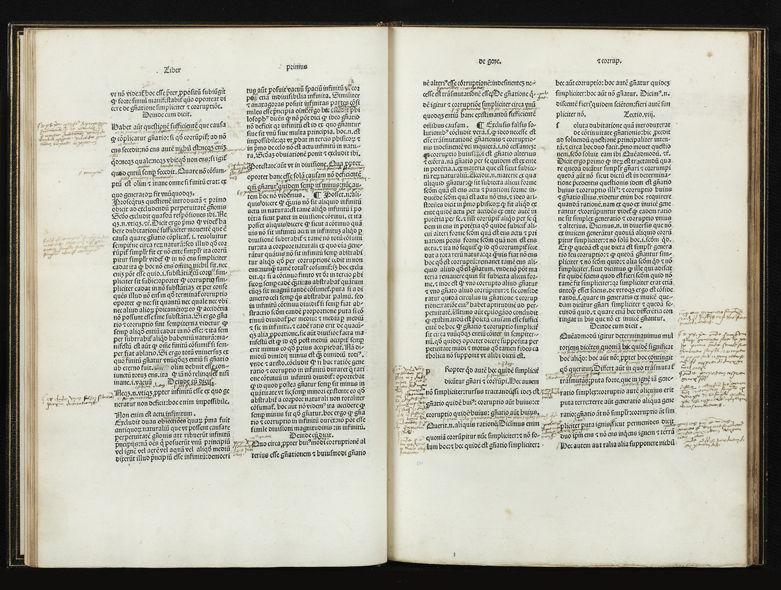 example of book with marginalia