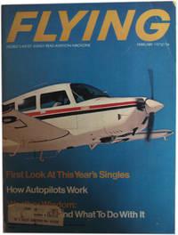 Flying Magazine. February, 1973. Vol. 92, No. 2