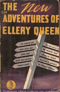 "image of The New Adventures of Ellery Queen; including the short novel ""The Lamp of God"""
