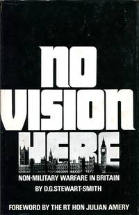 image of No Vision Here : Non-Military Warfare in Britain (Signed By Author)