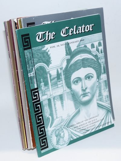 Lancaster, PA: the Celator, 2000. Twelve issues of the magazine devoted to classical numismatics. St...