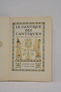 CANTIQUE (Le) des cantiques.