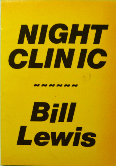 Kent: Lazerwolf Press, 1984. First edition. Paperback. Near Fine. Early book of poems by Lewis. Much...