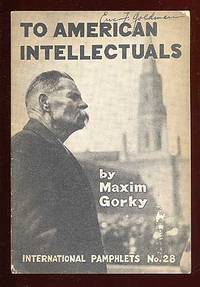 (New York): International Publishers, 1932. Softcover. Near Fine. First American edition. Stapled wr...