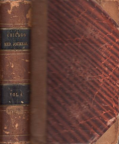 : Printed by William Pigot, Book and Job Printer, 130 South Clark Street, 1861. First Edition. Leath...
