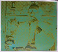 Richard ll   Portrait of Richard Hamilton by Harold Cohen