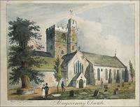 Abergavenny Church. by J Cullum - 1st Edition - 1840 - from Roz Hulse and Biblio.com