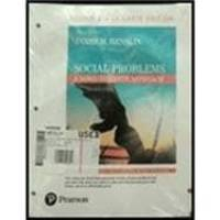 image of Social Problems: A Down-to-Earth Approach -- Books a la Carte (12th Edition)