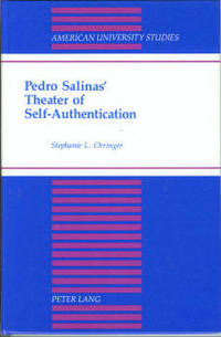Pedro Salinas' Theater Of Self-authentication