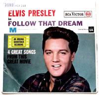 image of Elvis Presley Follow That Dream EP